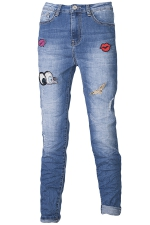 578 Jeans mit Patches Sweet Piece