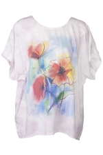 A50419 Shirt Blumen Sweet Piece